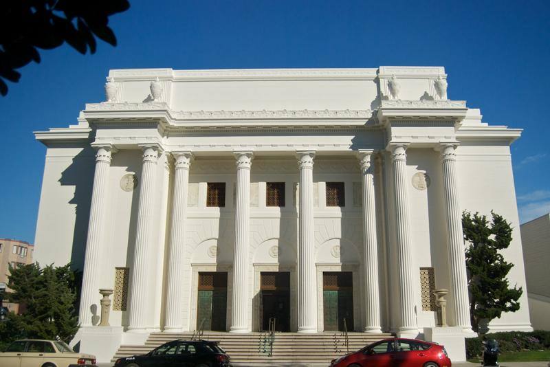 The Internet Archive, San Francisco.