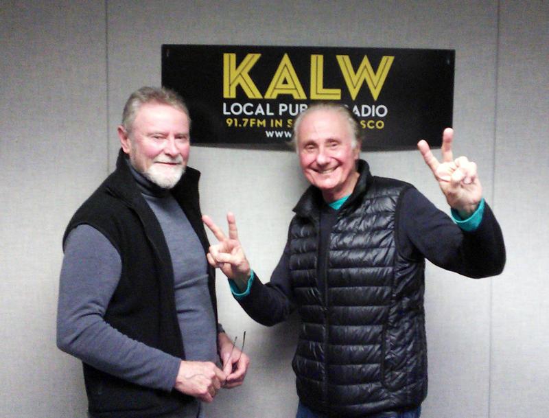 Stephen Abney (left) and Richard Loren (right), co-authors of High Notes, Loren's rock memoir