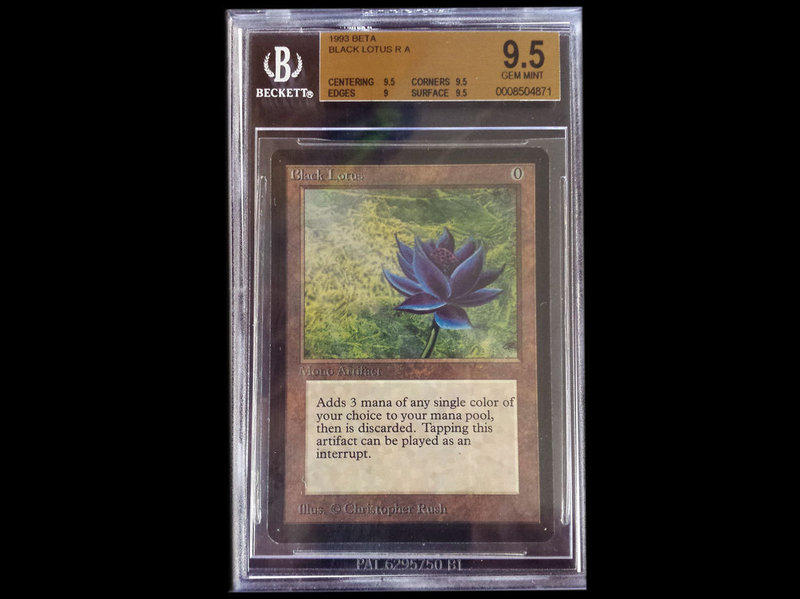A mint condition Black Lotus sells for $25,000.