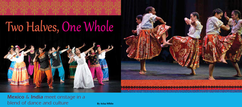 """Half and Halves"" tells the story of Punjabi-Mexican intermarriages in California at the start of the 20th century.  Image source: http://www.dancestudiolife.com/two-halves-one-whole/"