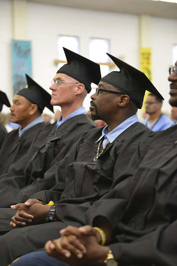 Prison University Project Graduation Ceremony