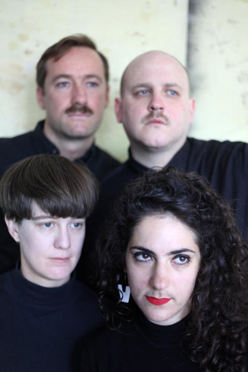 Top L-R: Andrew Luttrell (Bass), Scott Moore (Guitar) Bottom L-R: Jess Scott (Vocals, Guitar), Diane Anastasio (Drums)