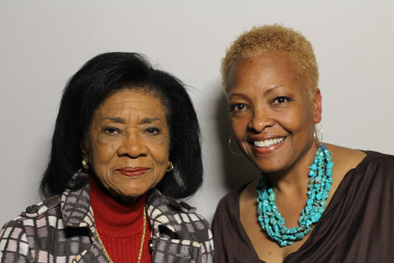 Belva Davis (left) and Miranda Wilson (right).