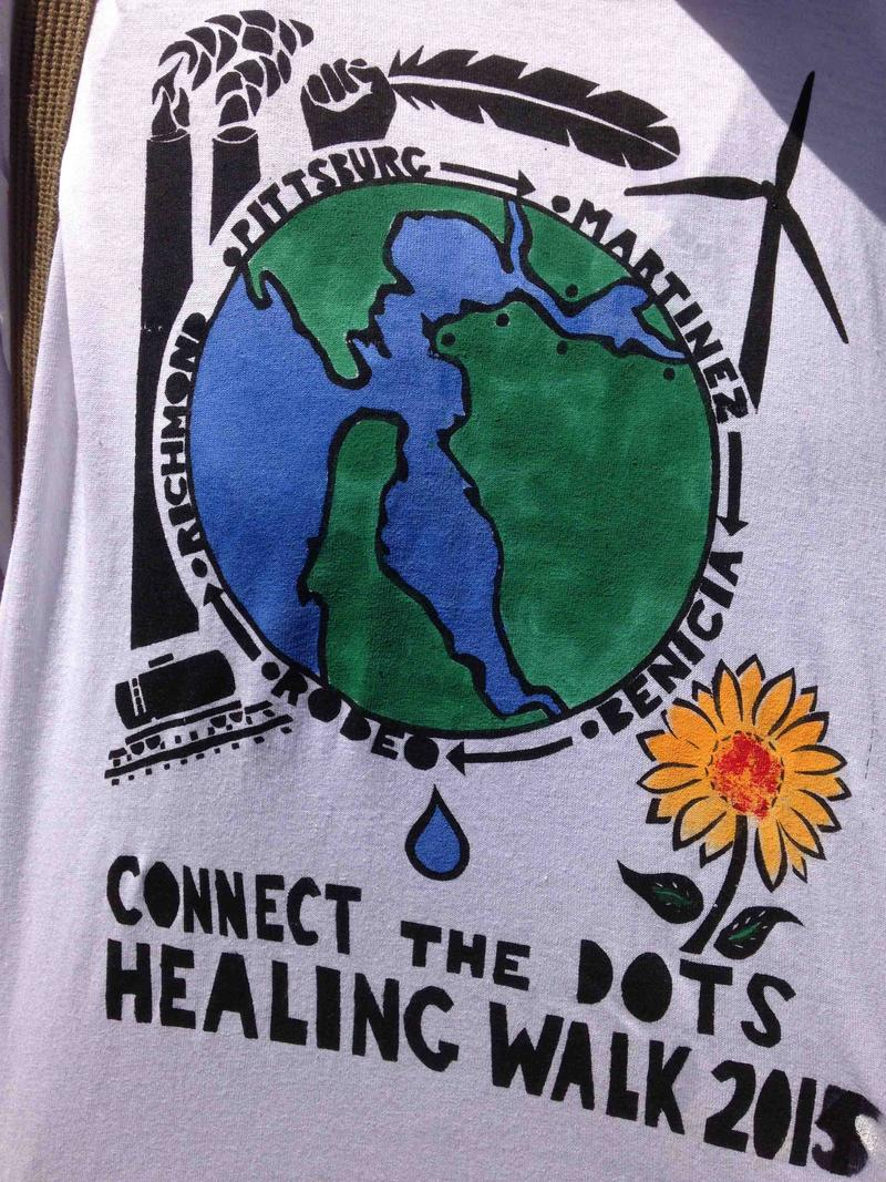 Connecting the Dots Healing Walks 2015