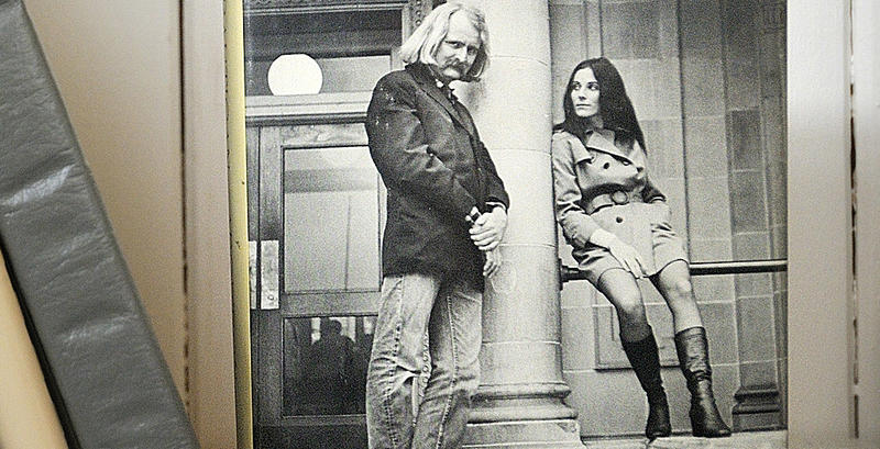 We set out on a search for Brautigan in a San Francisco library.