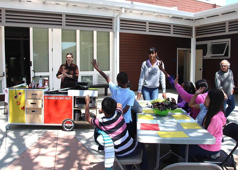 Modular Classroom Cerritos College ~ How a modern day chuckwagon gets kids to eat their veggies