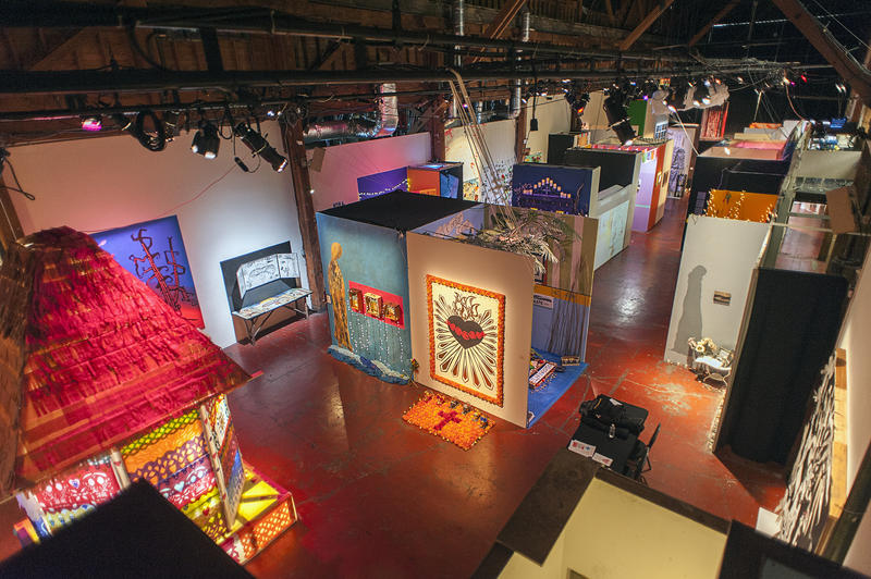 SOMArts' 2015 Día de Muertos exhibition closes on Saturday, November 7.