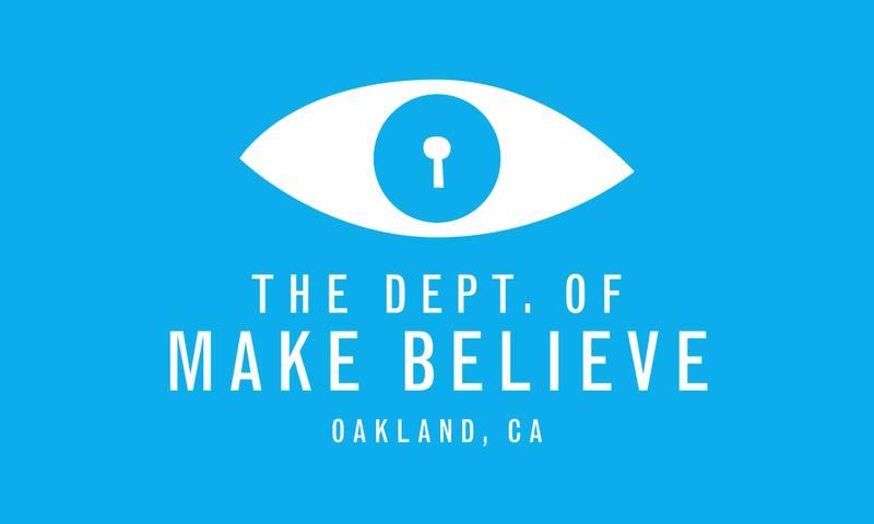Fling open the doors to imagination with the Department of Make Believe, an interactive storefront and center of magical bureaucracy based in Oakland.