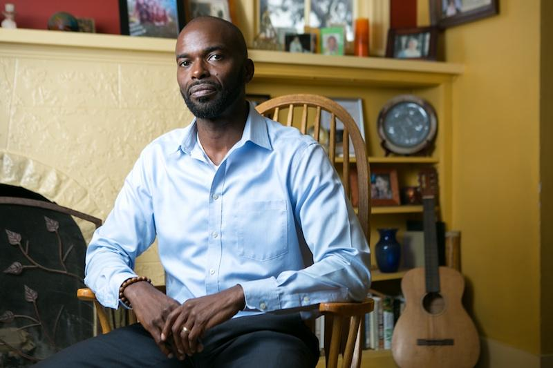 Leland Thompson has experienced racial profiling in online forums and in his Oakland neighborhood.