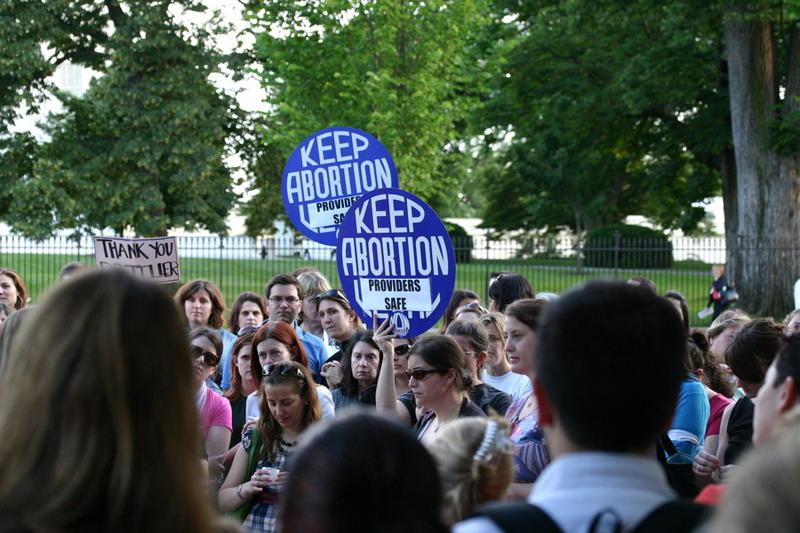 DC vigil for Dr Tiller an abortion provider killed in 2009