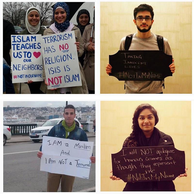 Responses on social media to terror attacks