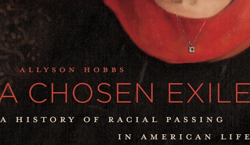 Stanford Professor Allyson Hobbs' latest book, 'A Chosen Exile.'