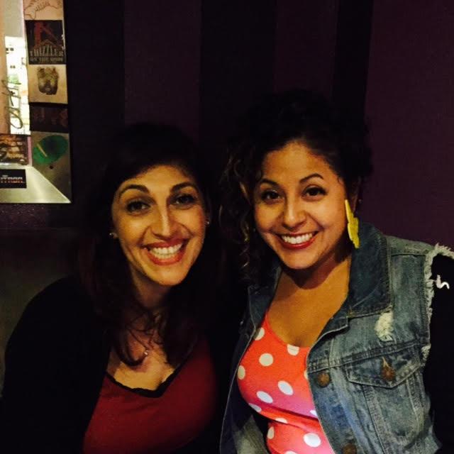 Zahra Noorbakhsh & Favianna Rodriguez at The New Parish