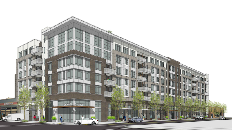 Renderings of 23rd & Valdez proposal