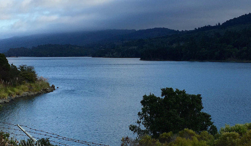 Crystal Springs Reservoir by Flickr User Jennifer Morrow, used under CC by-NC-SA 2.0/resized and cropped