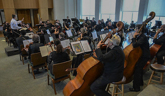 The Oakland Civic Orchestra in concert...