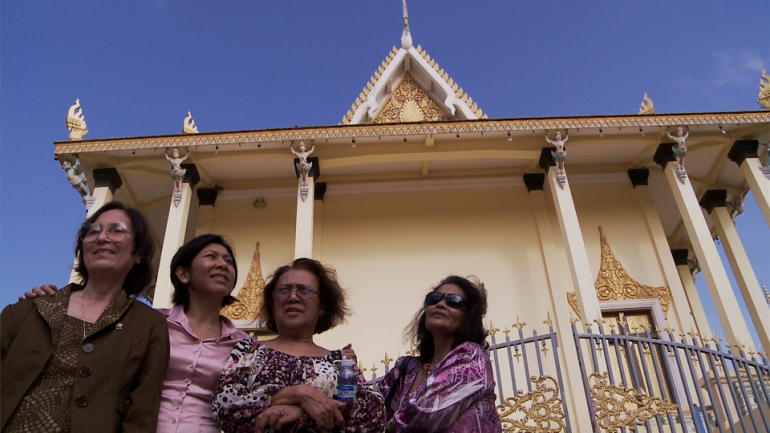 Women at the temple, from documentary Daze of Justice, directed by Michael Siv.