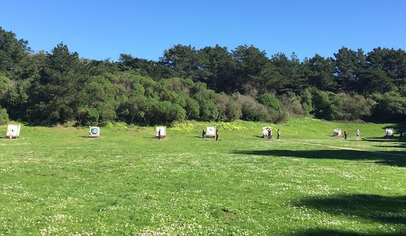The range in full sun