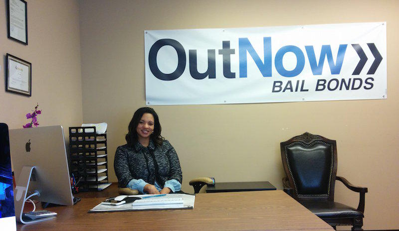 Corrine Rankin, owner of Out Now Bail Bond