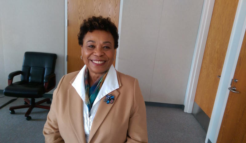 Congresswoman Barbara Lee in Oakland