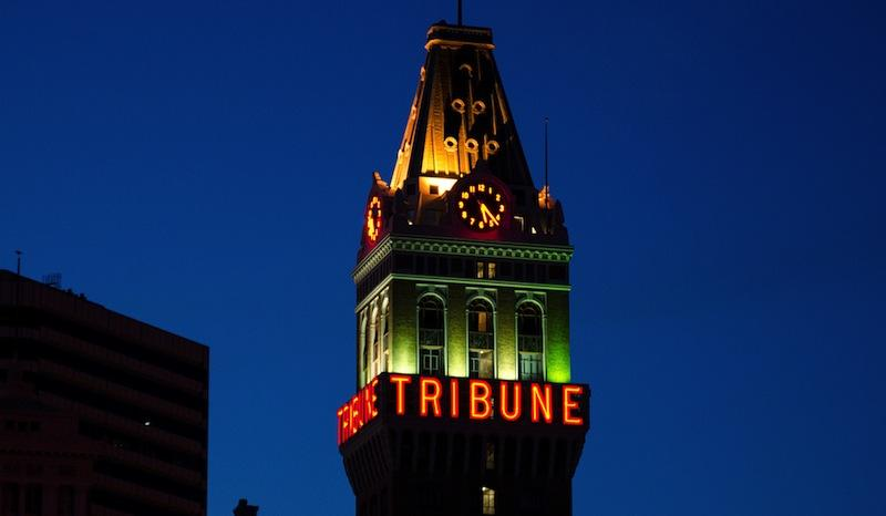 The Tribune Tower in Oakland