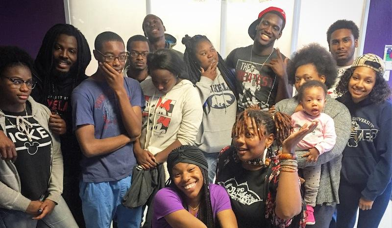 "Cast of ""Fairytale,"" a production of RYSE Youth Center"