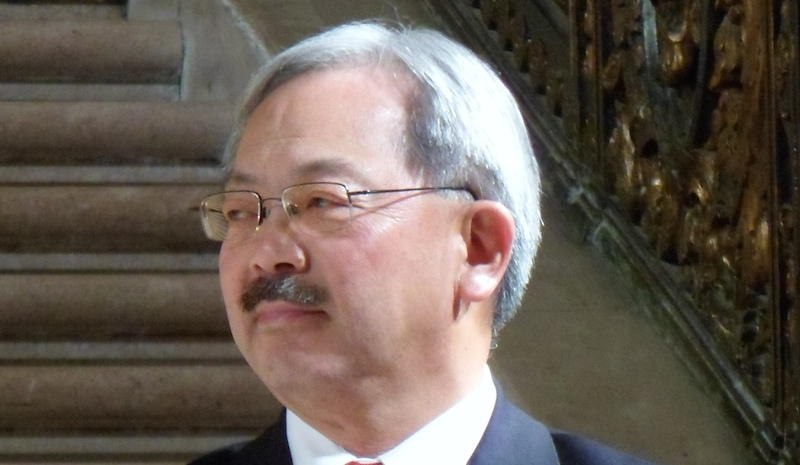 Ed Lee, Mayor of San Francisco by Zboralski, used under CC Attribution-SA 3.0/resized and cropped