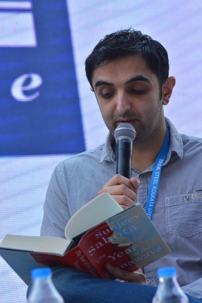 at the Kolkata Literary Meet