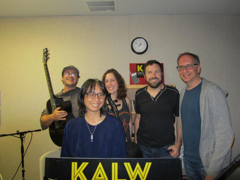 JoAnn Mar & Dirty Cello with SF Folk Clubbers Jeremy Friedenthal & Pete Kronowitt