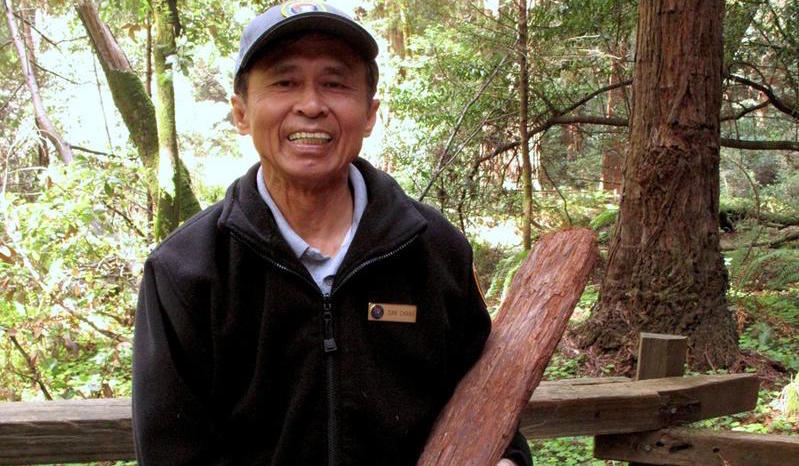 Dan Chang, Muir Woods volunteer
