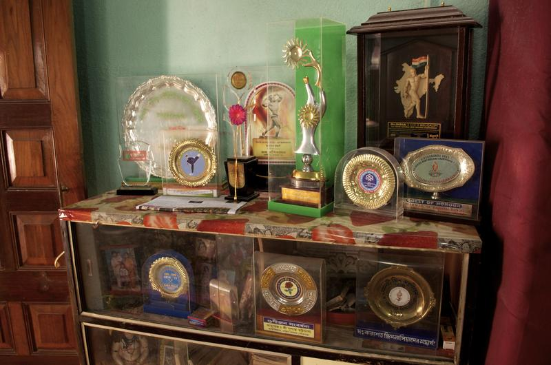 Manohar Aich's medals