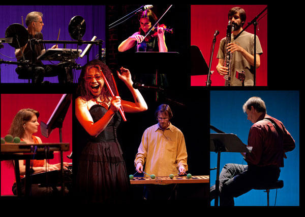 Amy X Neuberg & The paul Dresher Ensemble