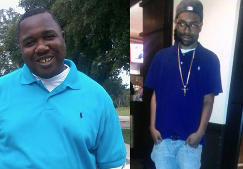 Alton Sterling and Philando Castile (left to right)