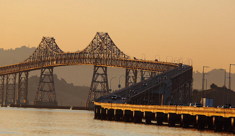"""Richmond-San Rafael Bridge"" by Flickr user DonMcCullough, used under CC BY-NC 2.0 / Resized and cropped"