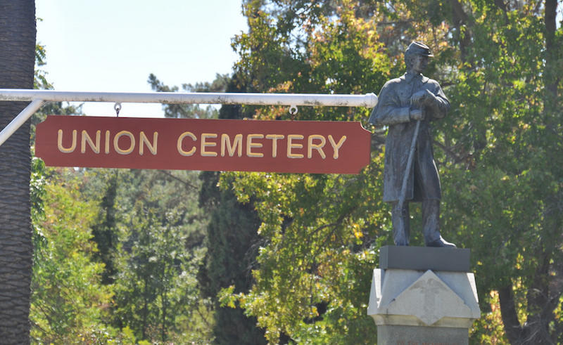 Take a historical tour of Redwood City's Union Cemetery this Saturday morning.