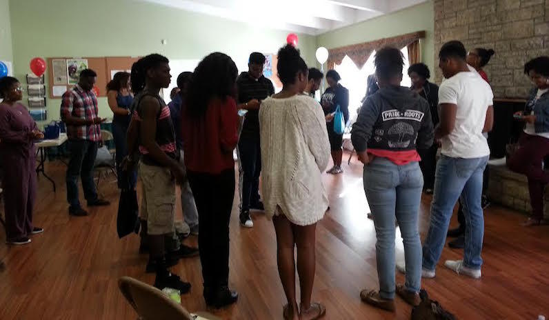 Incoming Howard University Freshman at Imani Community Church in Oakland