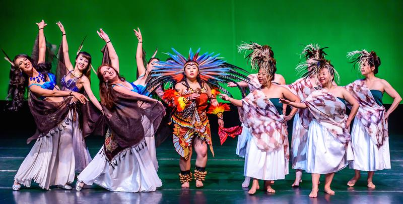 The Conference of the Birds includes ten different dance styles: Belly Dancers (Hala Dance); Aztec (Yoli Parra); Hula (Hālau Nāpuaokamokihana ohā), among others…