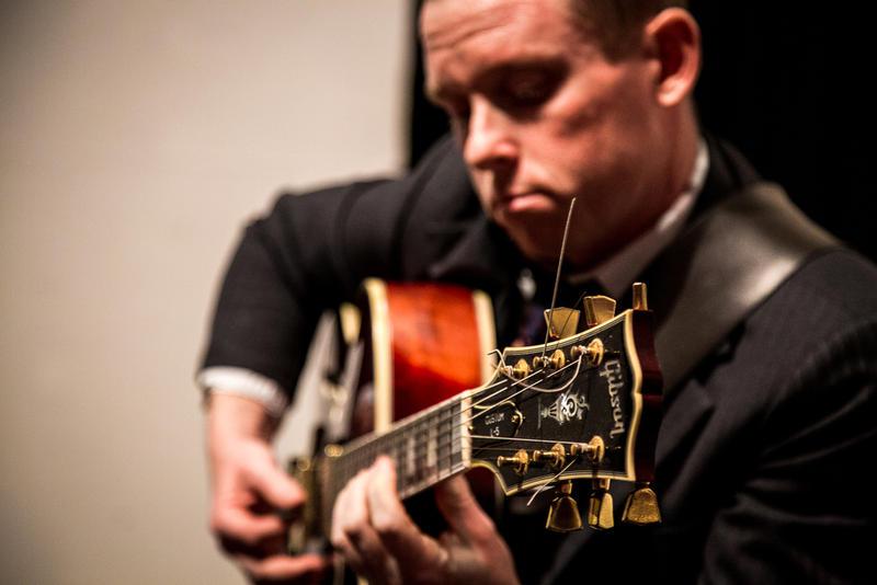 Jazz guitarist Jack Tone Riordan...