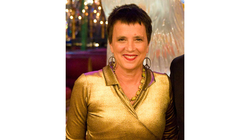Eve Ensler at a Hudson Union Society event in March 2011