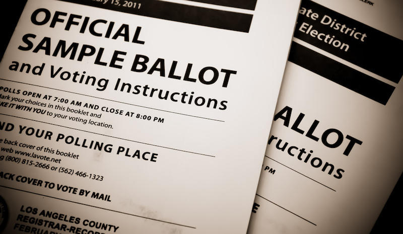 """Local Election Ballot #ds444"" by Flickr user Brendan C. Used under CC  BY 2.0. Cropped from original. (Source: http://bit.ly/2ddbjiT)"