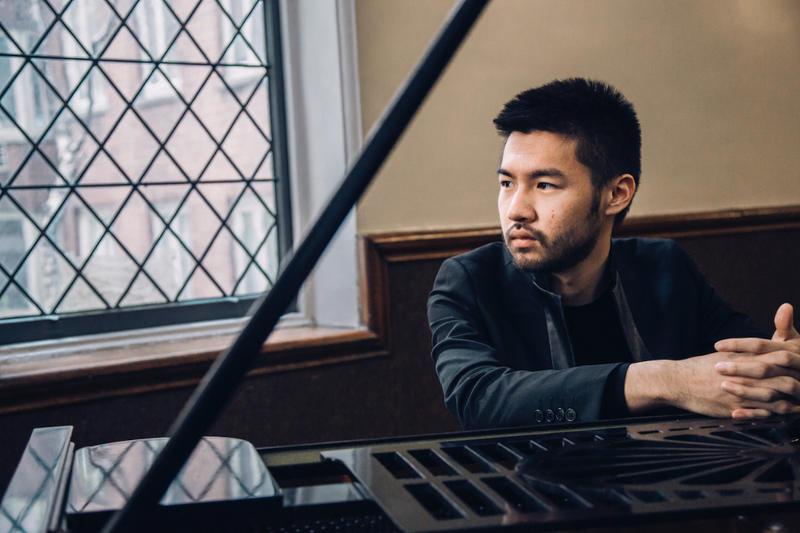 Pianist Conrad Tao plays Schumann's piano concerto in a minor, opus 54, with the Peninsula Symphony this weekend...