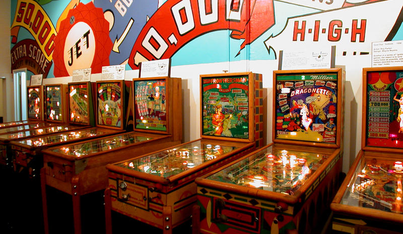 Alameda's Pacific Pinball Museum offers a unique NYE celebration on Saturday night.
