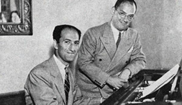 George and Ira (his birthday today) Gershwin