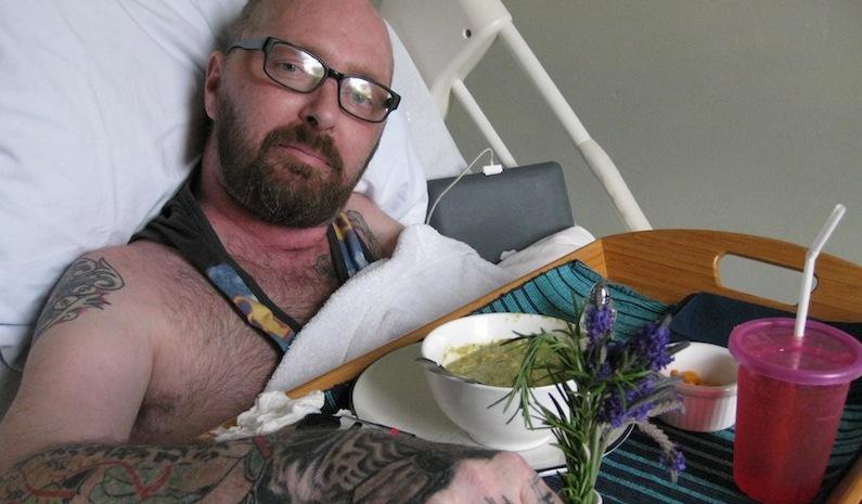 Luca Singer, former resident of San Francisco's Zen Hospice Project