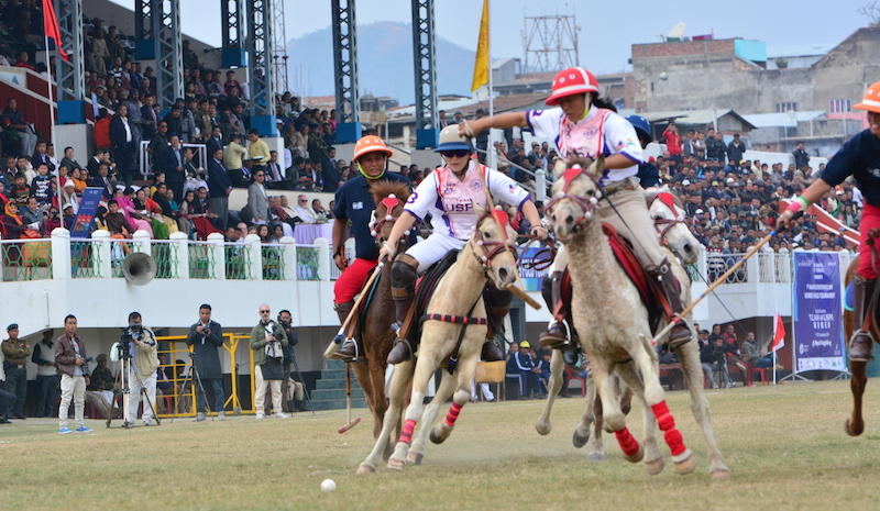 Polo match in Manipur