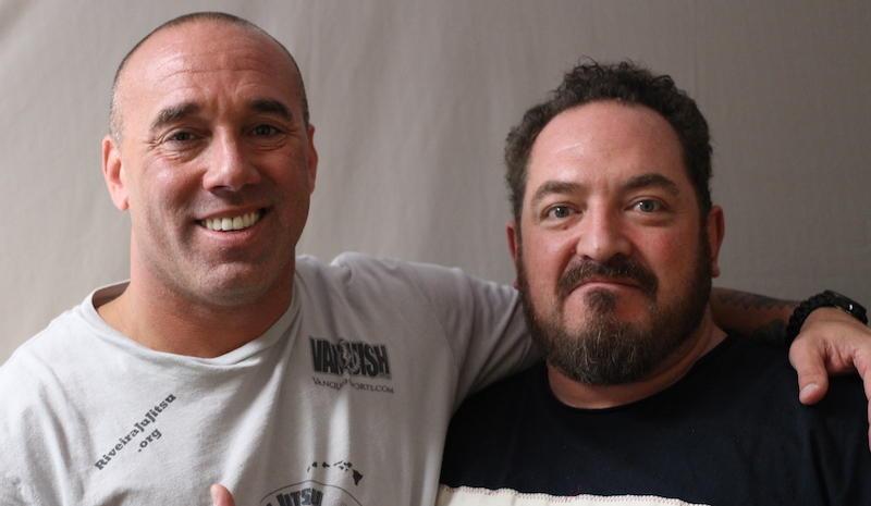 Ron Riveira and Jason Deitch at the Concord Vet Center
