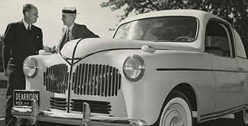 The fabulous soybean car, patented by Henry Ford in 1942.  (and tasty too!)