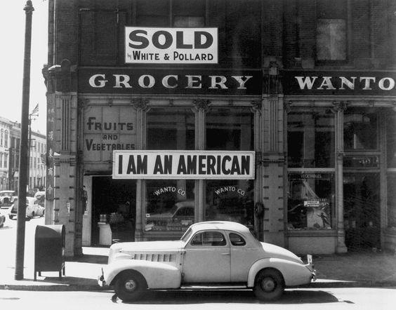 Japanese American Grocer in Oakland, California