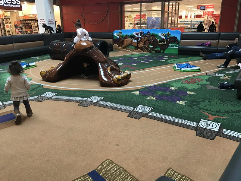 Children's play area at The Shops at Tanforan