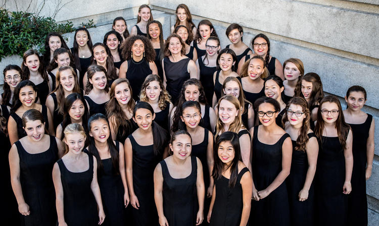 The San Francisco Girls Chorus...